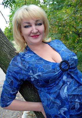 Ukraine bride  Alla 50 y.o. from Mariupol, ID 64960