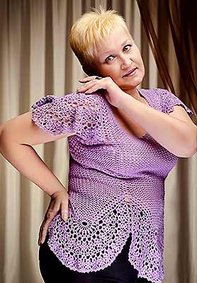 Ukraine bride  Ol'ga 57 y.o. from Odessa, ID 79534